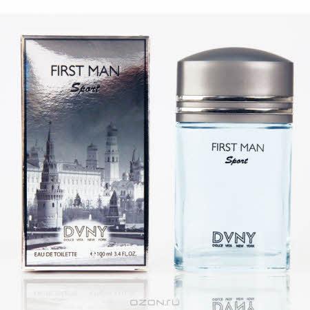 "Vapro Internati ""DVNY First Man Sport"". Туалетная вода, 100 мл"