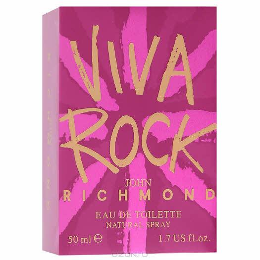 "John Richmond ""Viva Rock"". Туалетная вода, 50 мл"