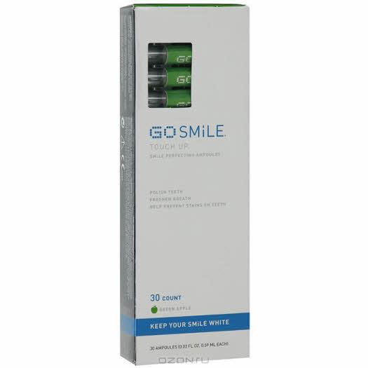 """Средство для отбеливания зубов Go Smile """"Touch Up"""", зеленое яблоко, 30 капсул"""