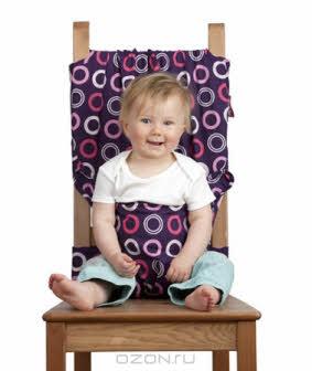 """Дорожный детский стульчик """"Totseat"""", цвет: ежевика"""