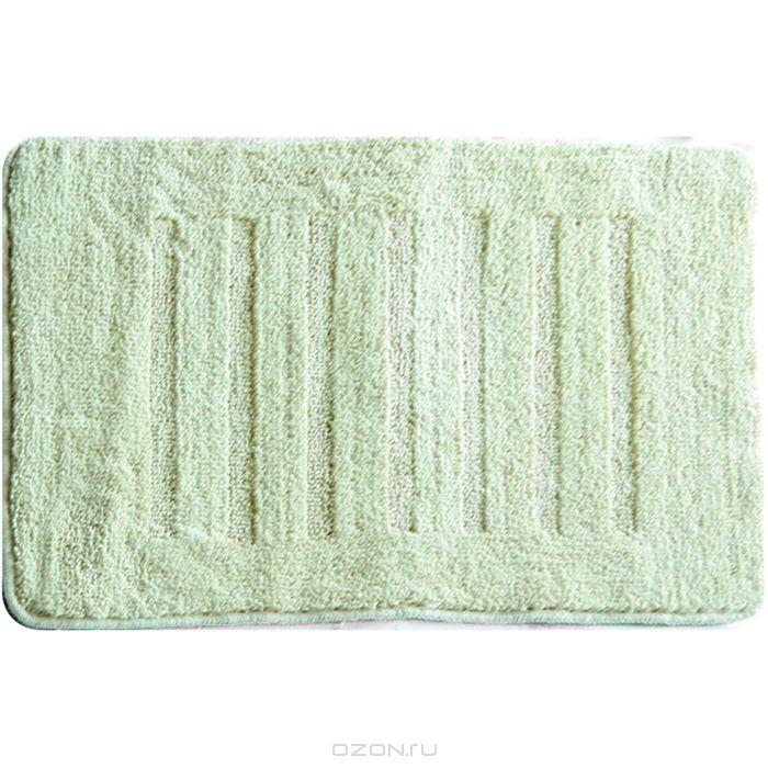 "Коврик для ванной комнаты Milardo ""Beige Lines"", 50 см х 80 см. MMI183M"