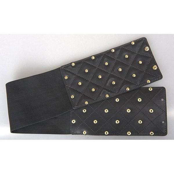 Широкий женский кожаный ремень 10299