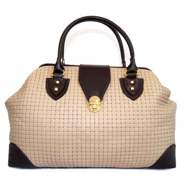 Стильная женская сумка из натуральной кожи