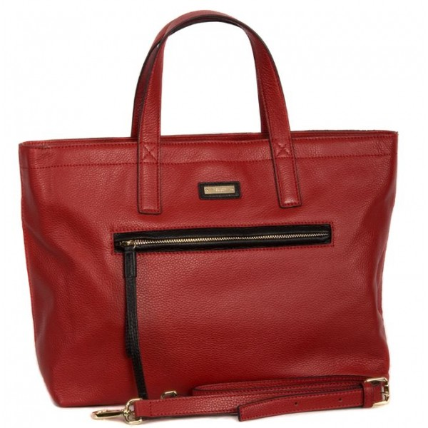 Стильная женская сумка ab120_red Alessandro Birutti