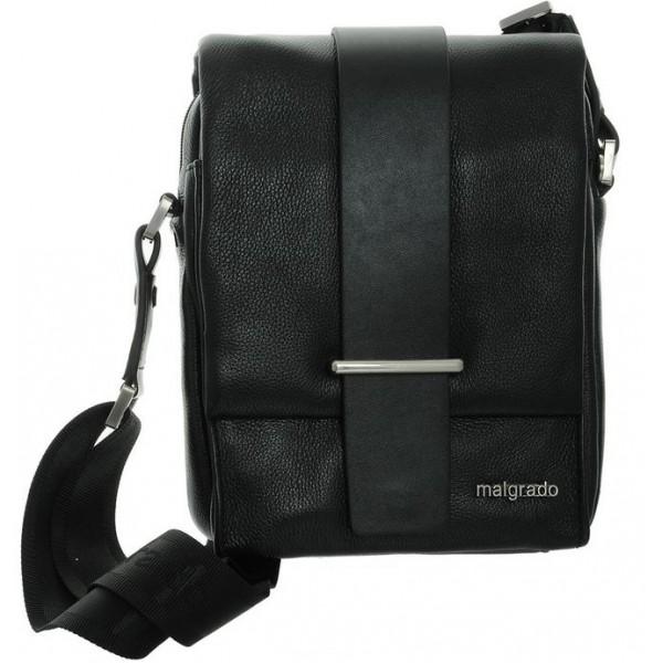Мужская сумка – планшет mg018_black Malgrado