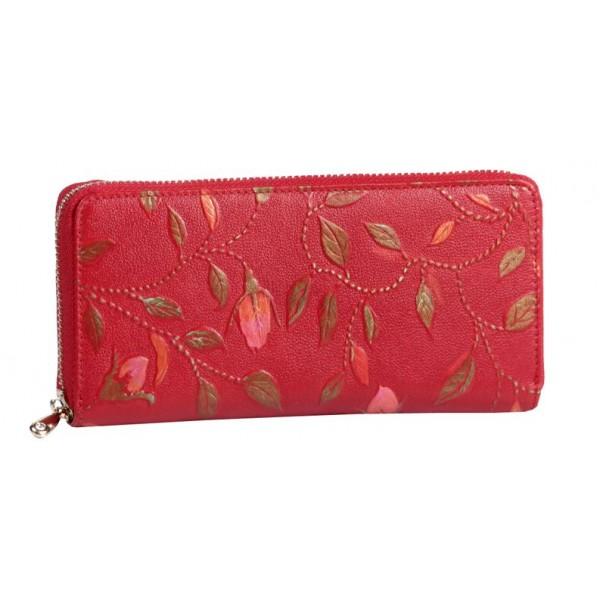 Женское портмоне из натуральной кожи бренда Sabellino