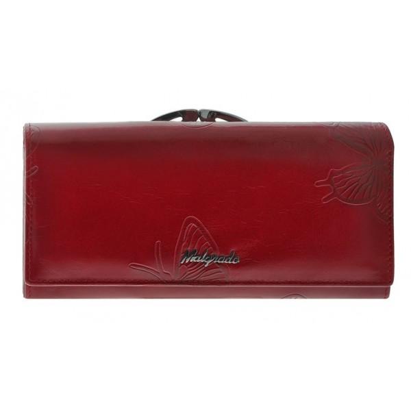 Женский кошелек 72031_red_butterfly Malgrado