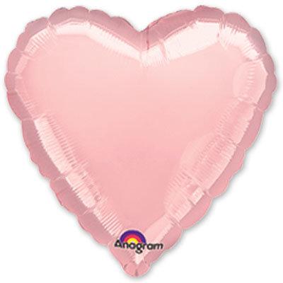 """Воздушный шар 18 """"Сердце"""" (разные цвета) FloraDelivery"""