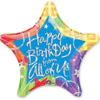 "Воздушный шар ""Happy Birthday"" (2) FloraDelivery"