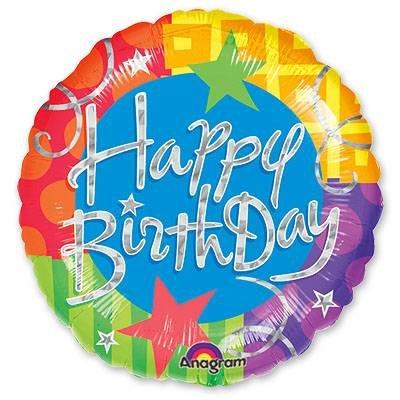 "Воздушный шар ""Happy Birthday"" (1) FloraDelivery"