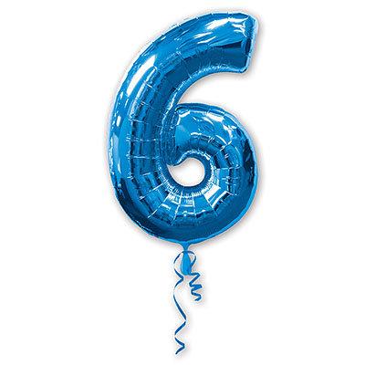 "Воздушный шар ""Цифра 6"" FloraDelivery"