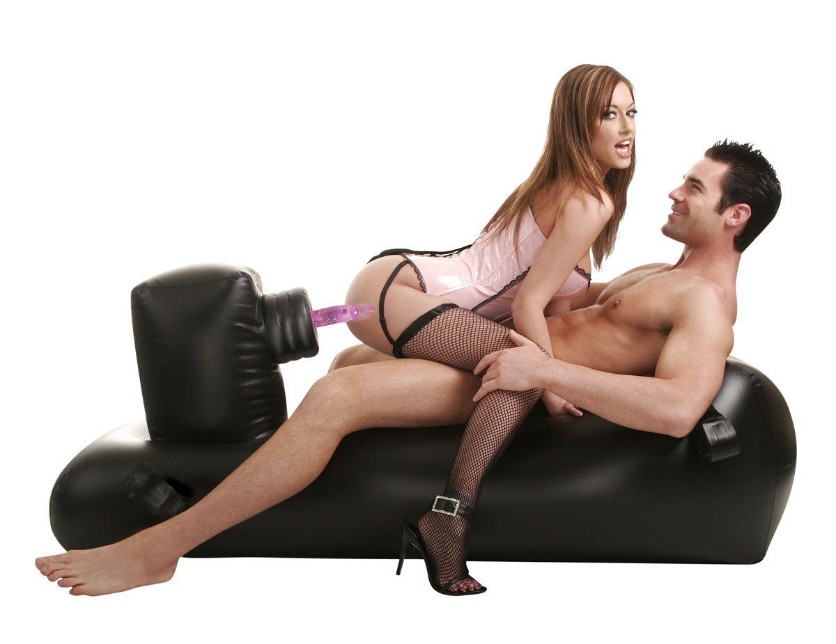 Секс-машина с надувной кушеткой inflatable love lounger Pipedream Pd2194-00