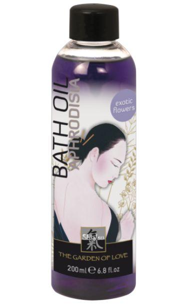 """Масло для ванны """"афродизия"""" с запахом экзотических цветов – 200 мл. Shiatsu 66031"""