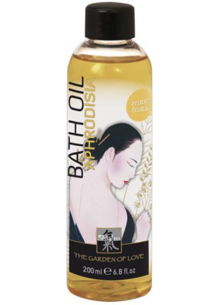 """Масло для ванны """"афродизия"""" с запахом экзотических фруктов – 200 мл. Shiatsu 66030"""
