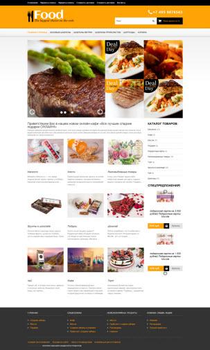 Тема #31: продукты, кулинария, пицца, сладости