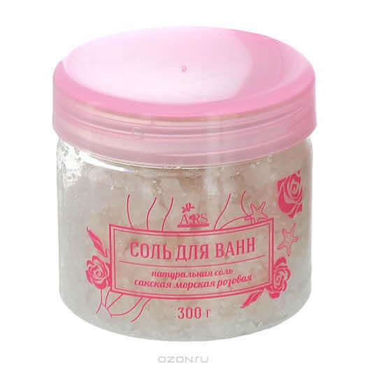 "Соль для ванн Арома Роял Системс ""Сакская розовая"", натуральная, 300 г"