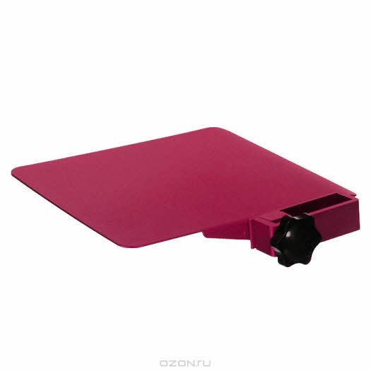 """Площадка для столиков """"ASX"""" под компьютерную мышь, цвет: розовый"""