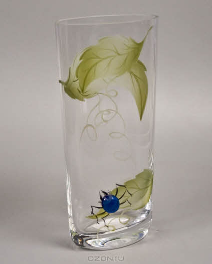 "Вазон ""Deco-Glass"", высота 22 см. АС 04116/0220/АА-В497"