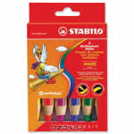 """Набор цветных карандашей """"Stabilo (Штабило) Woody"""", 6 цветов"""