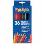 "Набор цветных карандашей ""Primo"", 36 шт"