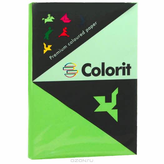 """Бумага офисная """"Colorit"""", цвет: ярко-зеленый, 500 листов, А3"""