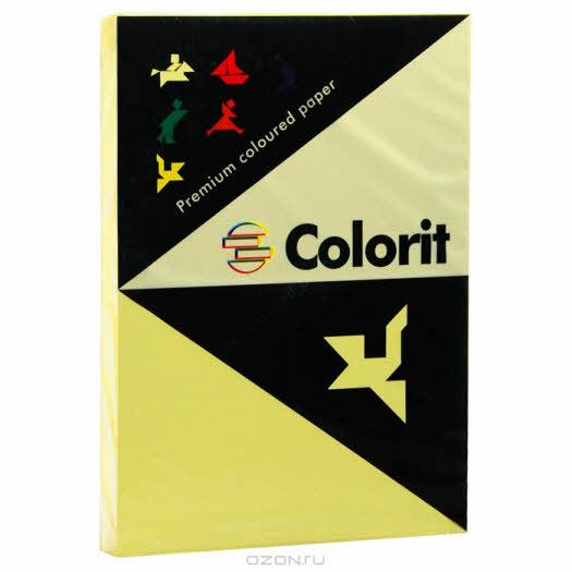"""Бумага офисная """"Colorit"""", цвет: светло-лимонный, 250 листов, А3"""