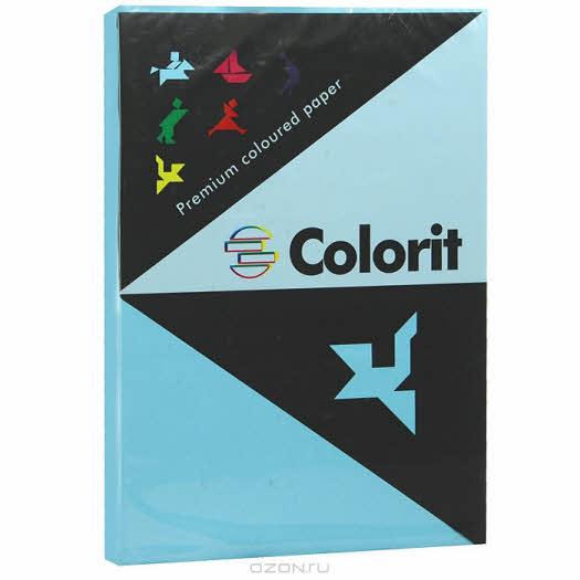 """Бумага офисная """"Colorit"""", цвет: аквамарин, 500 листов, А3"""