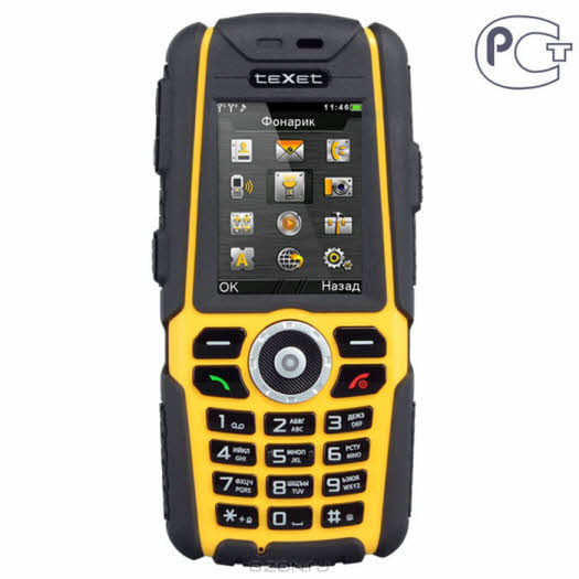 TeXet TM-540R, Black Yellow