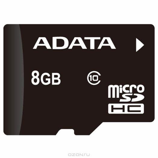 ADATA microSDHC Class 10, 8GB