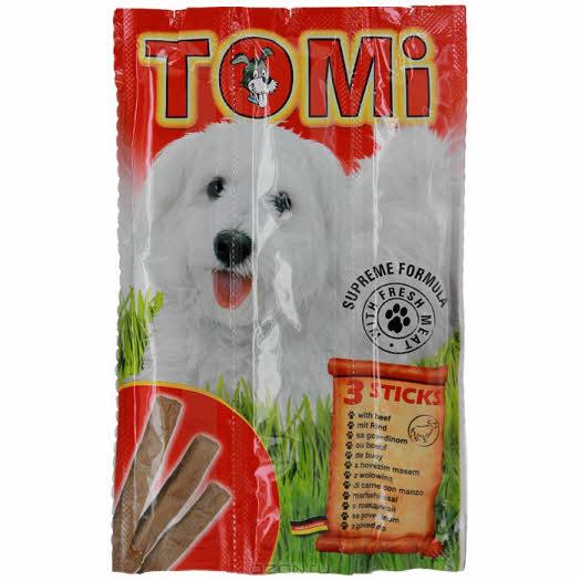 """Палочки """"Tomi"""" для собак, с говядиной, 3 х 10 г"""