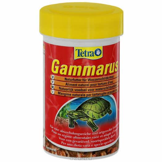 """Корм Tetra """"ReptoMin"""" для водных черепах, из гаммаруса, 100 мл"""