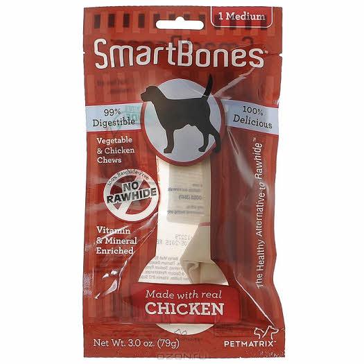 """Лакомство для собак SmartBones """"Косточка"""", с курицей, 79 г"""