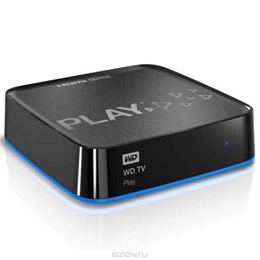 WD TV Play Full HD Wi-Fi (WDBHZM0000NBK-EESN) медиаплеер