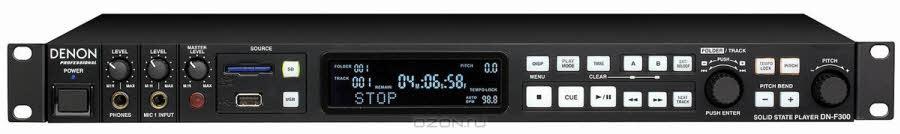 Denon DN-F300E2 профессиональный SD card/USB плеер