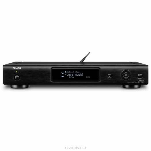 Denon DNP-720, Black cетевой аудио-проигрыватель