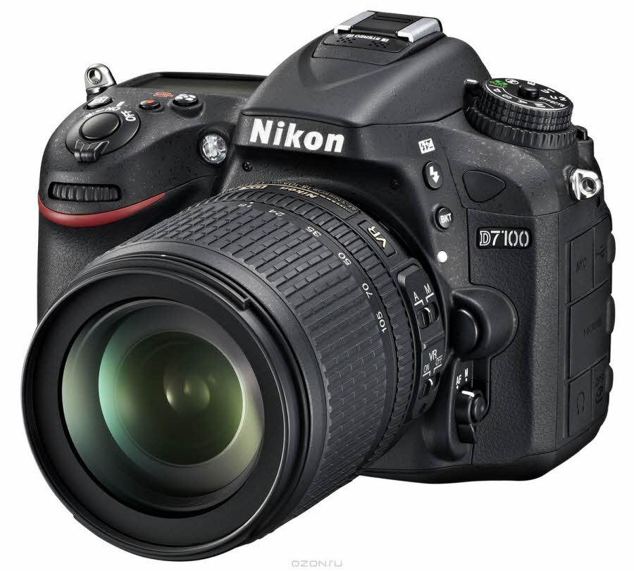 Nikon D7100 Kit 18-105 VR, Зеркальная