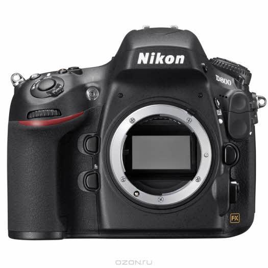 Nikon D800 Body, Зеркальная