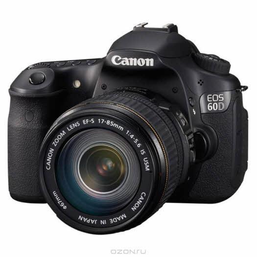 Canon EOS 60D Kit 17-85 IS USM, Зеркальная