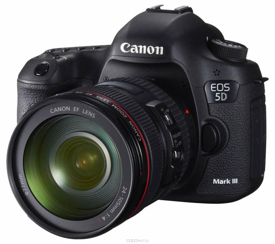 Canon EOS 5D Mark III 24-105, Зеркальная