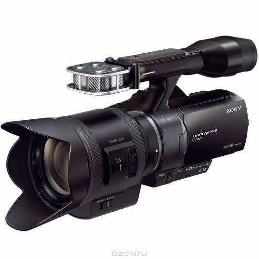 Sony NEX-VG30EH + SEL-18200 видеокамера с объективом, HD с флэш памятью