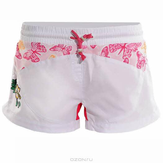 Шорты Ultra, цвет: розовый, белый