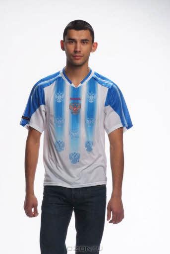 Футболка Relan Zero, цвет: белый, голубой