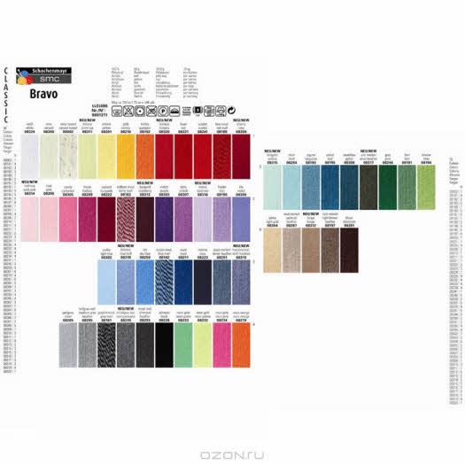 """Пряжа для вязания """"Bravo"""", цвет: серый (08295), 133 м, 50 г"""
